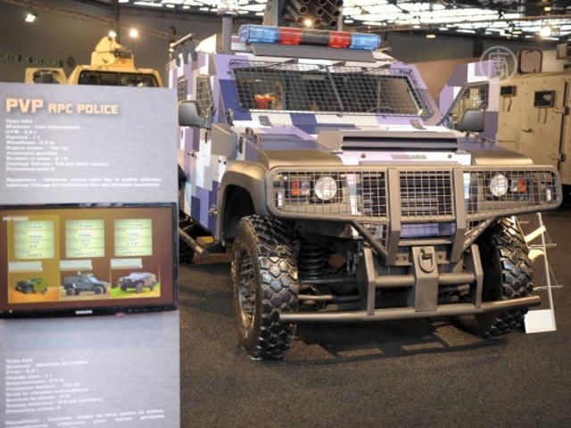 Французам показали новинки военной техники