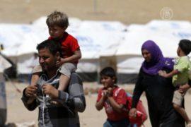 ООН разбила палатки для беженцев из Мосула