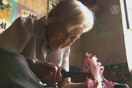 92-летняя китайская мастерица содержит семью