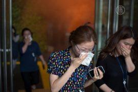 Южнокорейцев массово учат действиям при пожаре