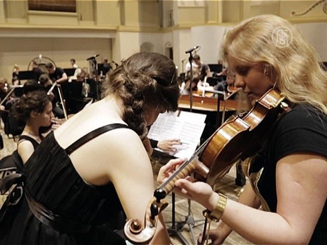 Дети из оркестра Юрия Башмета покоряют публику