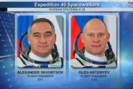 Российские космонавты поработали за пределами МКС