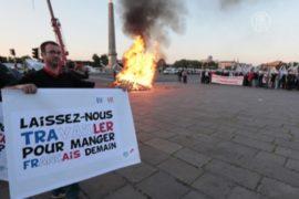 Фермеры разожгли костры в центре Парижа