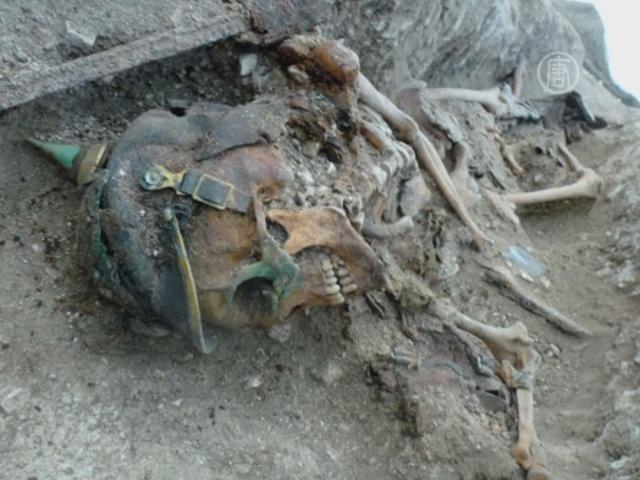 Захоронения Первой мировой нашли во Франции