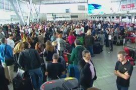 Аэропорт Сиднея остался без света