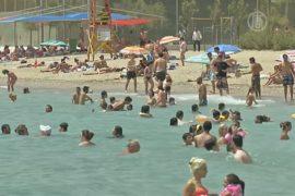 Температура воздуха в Греции превысила +40 градусов