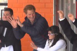 Принц Гарри составил компанию детям-инвалидам