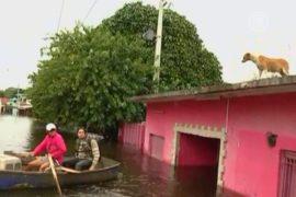 Столица Парагвая уходит под воду из-за ливней