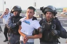 Палестинцы протестуют против убийства подростка
