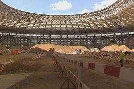 «Лужники» готовят к Чемпионату ФИФА-2018