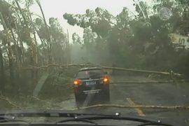 Тайфун «Раммасун» пришел в Китай