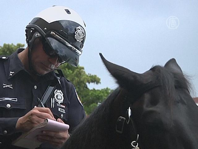 «Копы» на лошадях — достопримечательность Майями
