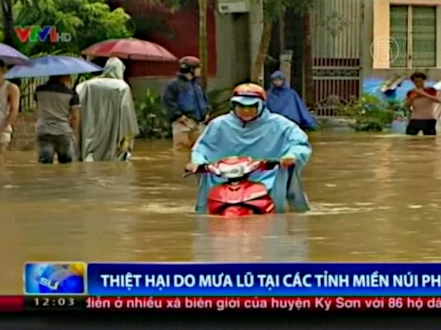 Тайфун «Раммасун» пришел во Вьетнам, есть жертвы