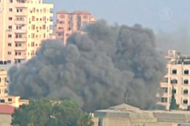 Ракета из Газы попала в жилой дом в Израиле