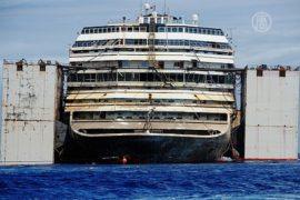 «Коста Конкордия» успешно доставлена в Геную
