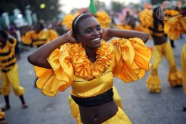 В столице Гаити снова танцуют