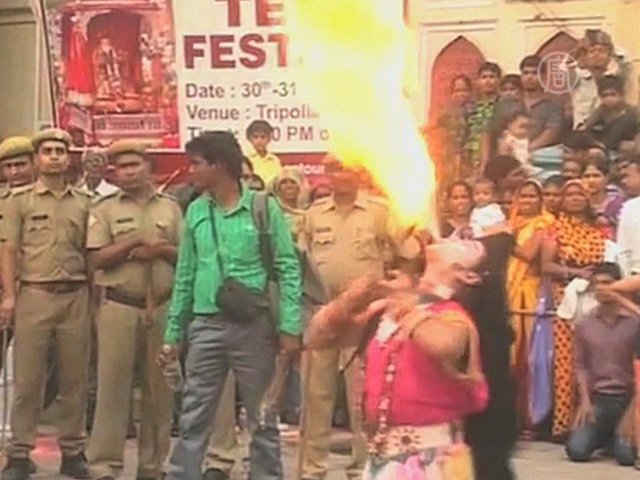 В Индии празднуют женский фестиваль Тидж