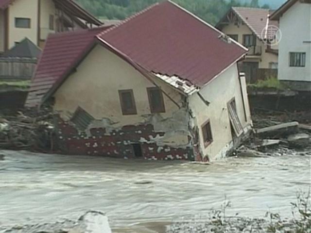 Дожди принесли бедствие в Румынию