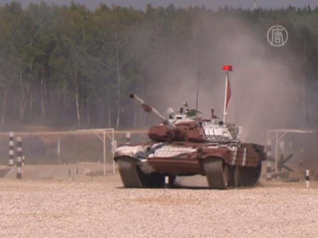 В России стартовал Чемпионат по танковому биатлону