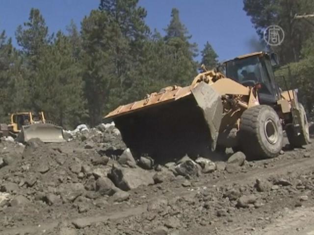 Южная Калифорния пострадала от оползней