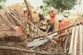 Оползень в Китае накрыл более 50 человек