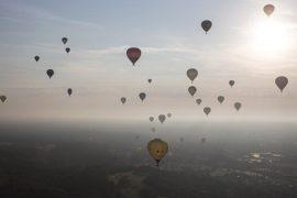 Фестиваль воздушных шаров проходит в Бристоле