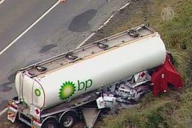 BP отзывает свои автоцистерны в Австралии