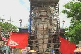 В Индии мастерят самого большого Ганешу