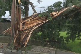 9 человек погибли в Японии от тайфуна «Халонг»