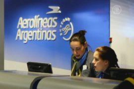 В Аргентине бастуют пилоты