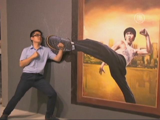 Музей 3D-искусства открылся в Пекине