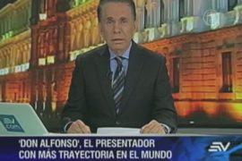 Эквадорский диктор ведет новости почти 50 лет