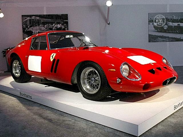 Ferrari 1962 года стал самым дорогим в мире