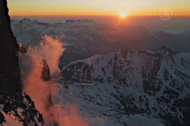 Снежные вершины Эйгера сняли на уникальные камеры