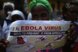В зоны карантина эпидемии Эболы доставляют еду