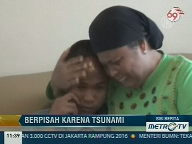 Живым нашелся мальчик, унесенный цунами в 2004