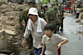 Число жертв оползня в Хиросиме растёт