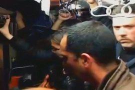 Люди застряли в метро Сантьяго на час