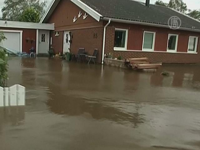 Восток Швеции восстанавливается от наводнений