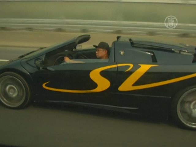 Китайцы сделали копию Lamborghini Diablo