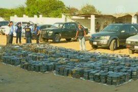 3,3 тонны кокаина конфисковали в Перу