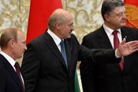 Путин и Порошенко провели закрытую встречу