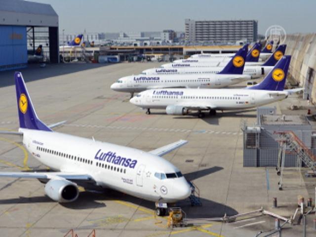 Пилоты Lufthansa Германии не вышли на работу