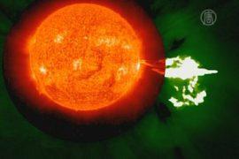 НАСА опубликовало снимки большой активности Солнца