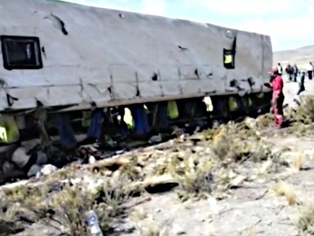 В Боливии перевернулся автобус, погибли иностранцы