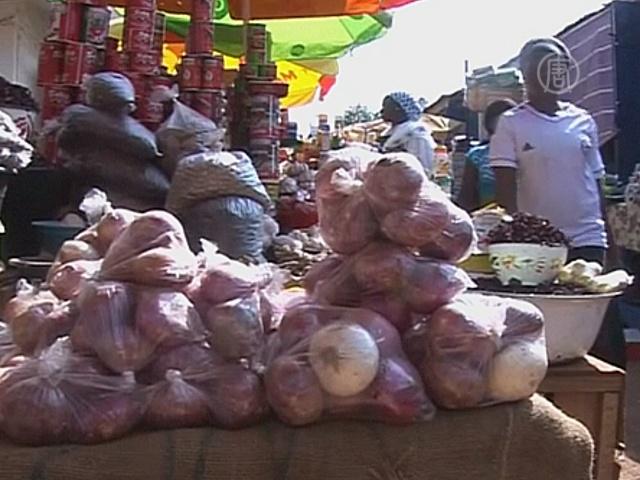 Африканцам грозит голод из-за Эболы