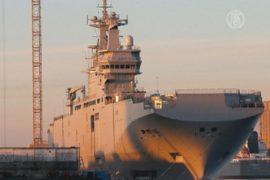 «Мистраль» остаётся во французском порту