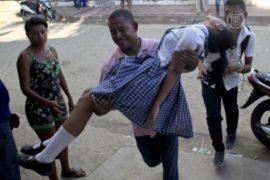 Девушки в Колумбии заболевают странной болезнью
