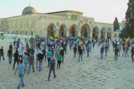 Иерусалим: стычки между палестинцами и полицией