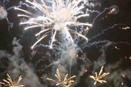 Конкурс фейерверков начался в Макао